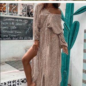 Spell Gypsy Designs Frankie Shirtdress Cheetah